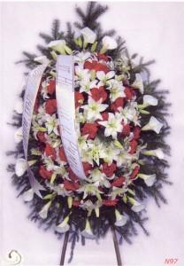 венци и цветя за траурни събития в Сливен